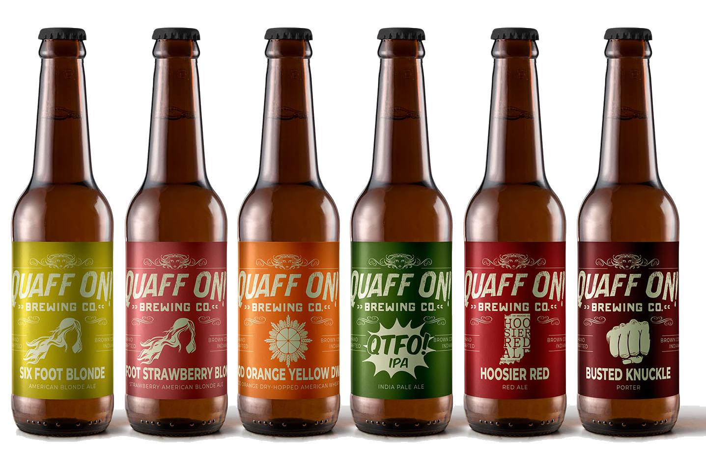 quaff on  brewing company